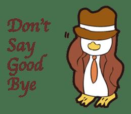 Gentle Penguin sticker #4319783