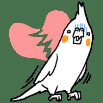 MARU the Cockatiel 2 sticker #4322475