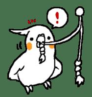 MARU the Cockatiel 2 sticker #4322479