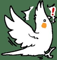 MARU the Cockatiel 2 sticker #4322490