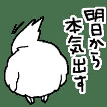 MARU the Cockatiel 2 sticker #4322503