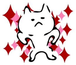 Dance of a cat sticker #4324178