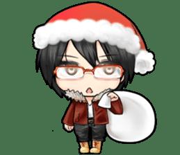 Devilkin glasses boy sticker #4326922