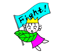 Mantle of the leaf sticker #4327286