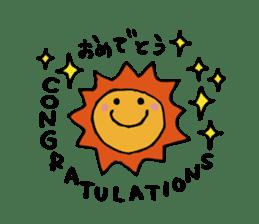 Stickers of congratulation. sticker #4328633