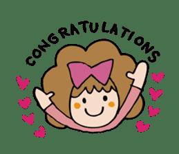 Stickers of congratulation. sticker #4328634