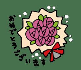 Stickers of congratulation. sticker #4328642