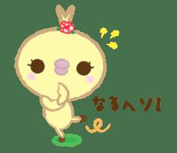 Peachan's time slip to the Showa sticker #4328780