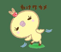 Peachan's time slip to the Showa sticker #4328790