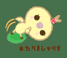 Peachan's time slip to the Showa sticker #4328795