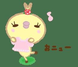 Peachan's time slip to the Showa sticker #4328805