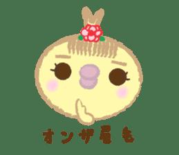 Peachan's time slip to the Showa sticker #4328815