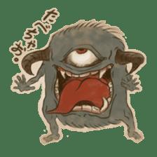 Youkai sticker of Tatami 2 sticker #4331058