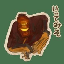 Youkai sticker of Tatami 2 sticker #4331074