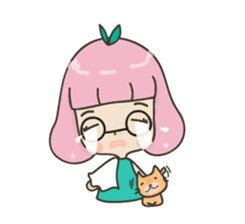 Hugjung & Twin cats sticker #4351581