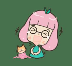 Hugjung & Twin cats sticker #4351582