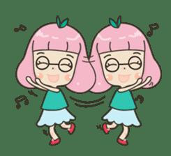 Hugjung & Twin cats sticker #4351604