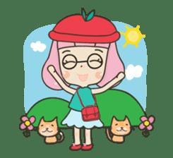 Hugjung & Twin cats sticker #4351608