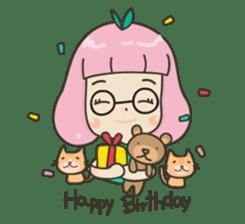 Hugjung & Twin cats sticker #4351609