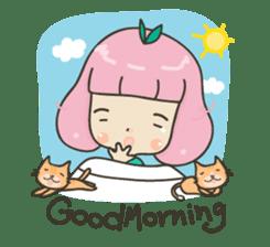 Hugjung & Twin cats sticker #4351610