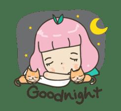 Hugjung & Twin cats sticker #4351611