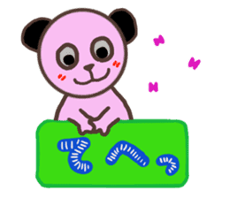 The healing panda 3 sticker #4352968