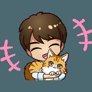 สติ๊กเกอร์ไลน์ Wataru Hatano Official LINE Sticker