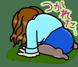 Around 30's years old shakurechan sticker #4358359
