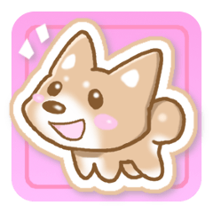 Sticker of the Shiba inu
