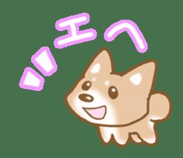 Sticker of the Shiba inu sticker #4358640