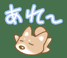 Sticker of the Shiba inu sticker #4358641