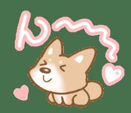 Sticker of the Shiba inu sticker #4358651
