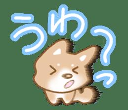 Sticker of the Shiba inu sticker #4358653