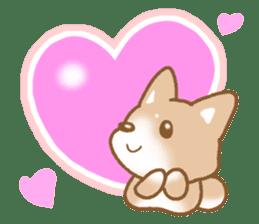 Sticker of the Shiba inu sticker #4358665