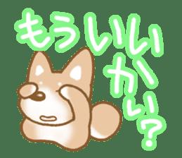 Sticker of the Shiba inu sticker #4358671