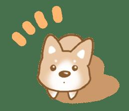 Sticker of the Shiba inu sticker #4358672