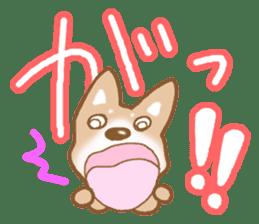Sticker of the Shiba inu sticker #4358674