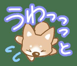 Sticker of the Shiba inu sticker #4358677