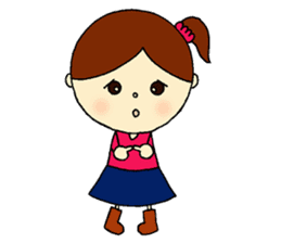 Tame-chan Kawaii Sticker sticker #4359008