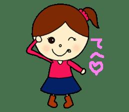 Tame-chan Kawaii Sticker sticker #4359014