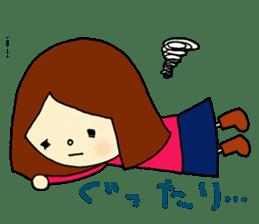 Tame-chan Kawaii Sticker sticker #4359034