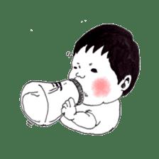 Baby Ayu's daily life sticker #4365368