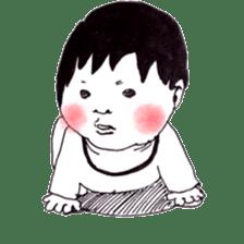 Baby Ayu's daily life sticker #4365373