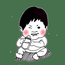 Baby Ayu's daily life sticker #4365377