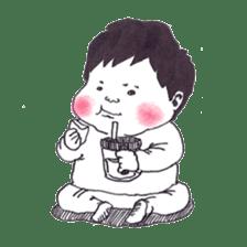 Baby Ayu's daily life sticker #4365381