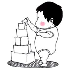 Baby Ayu's daily life sticker #4365384
