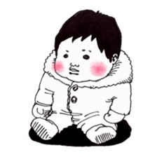 Baby Ayu's daily life sticker #4365385
