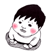 Baby Ayu's daily life sticker #4365386