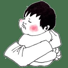 Baby Ayu's daily life sticker #4365392