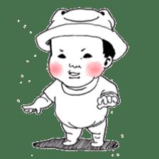 Baby Ayu's daily life sticker #4365393
